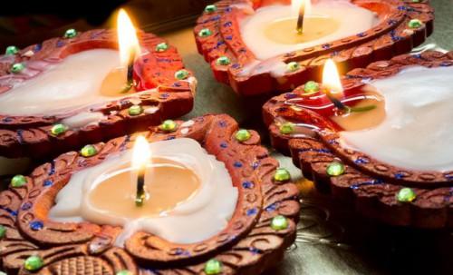 bougies pour rituel en art divinatoire